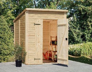 Das Gartenhaus als Gerätehaus